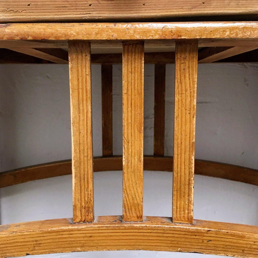 Tafel hout bruin