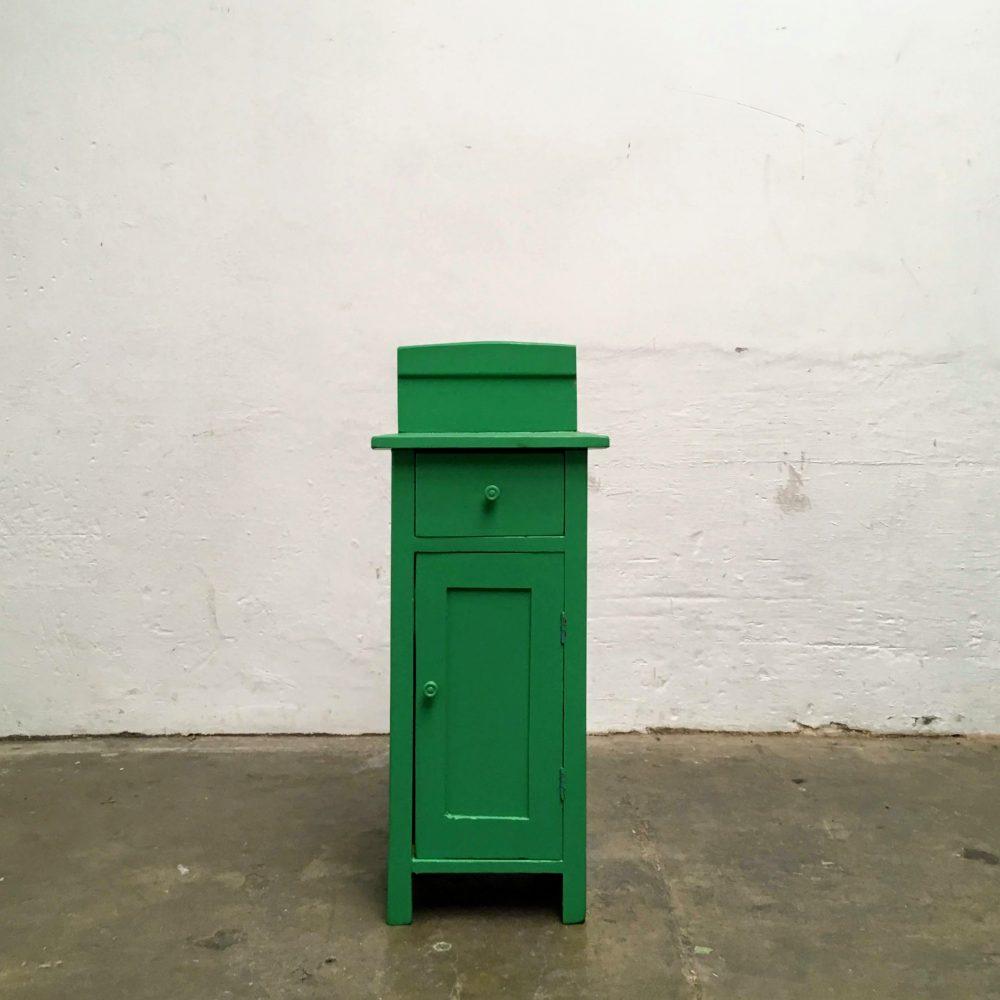 Hout groen kast