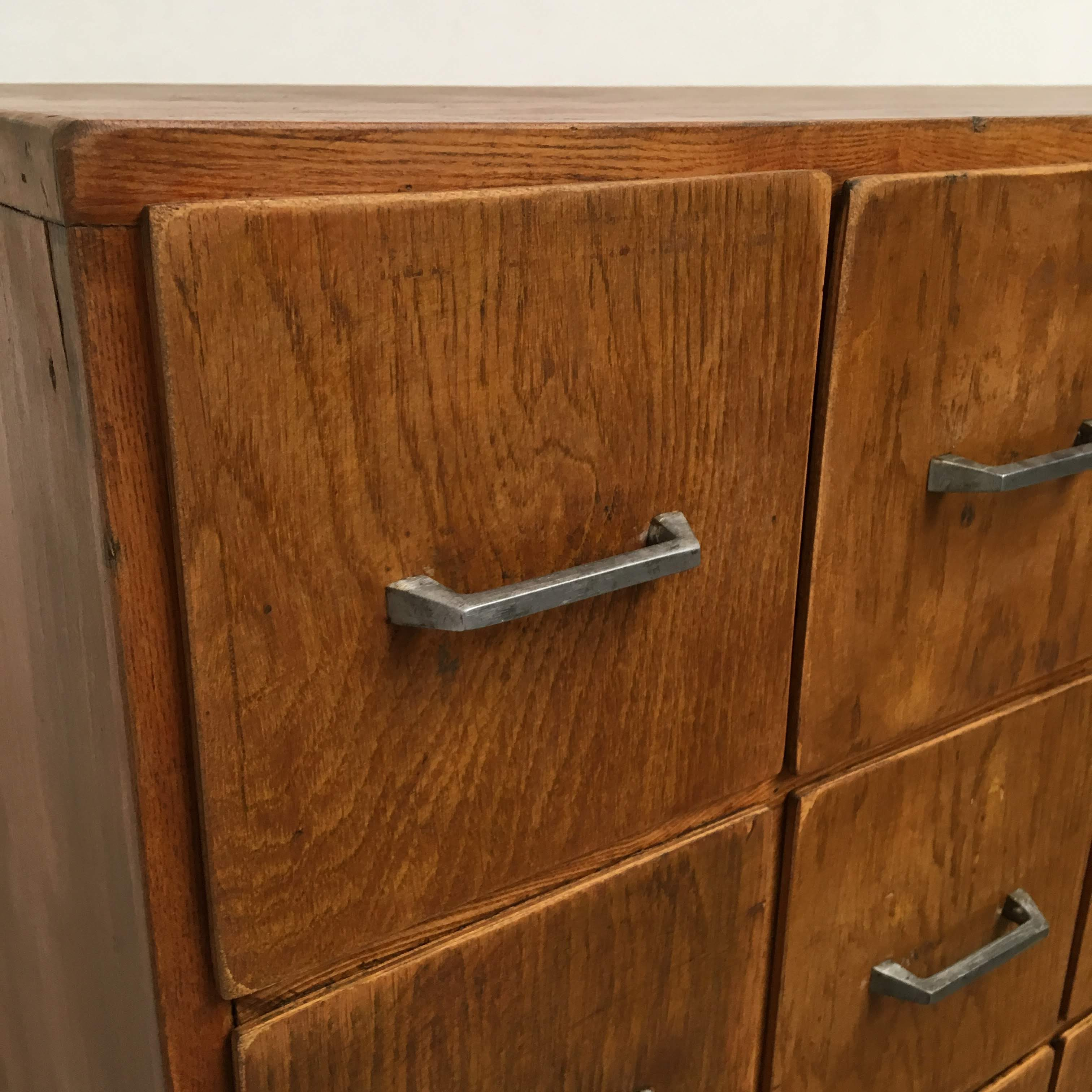Ongekend Industriële houten ladekast » Van Dijk en Ko FU-12