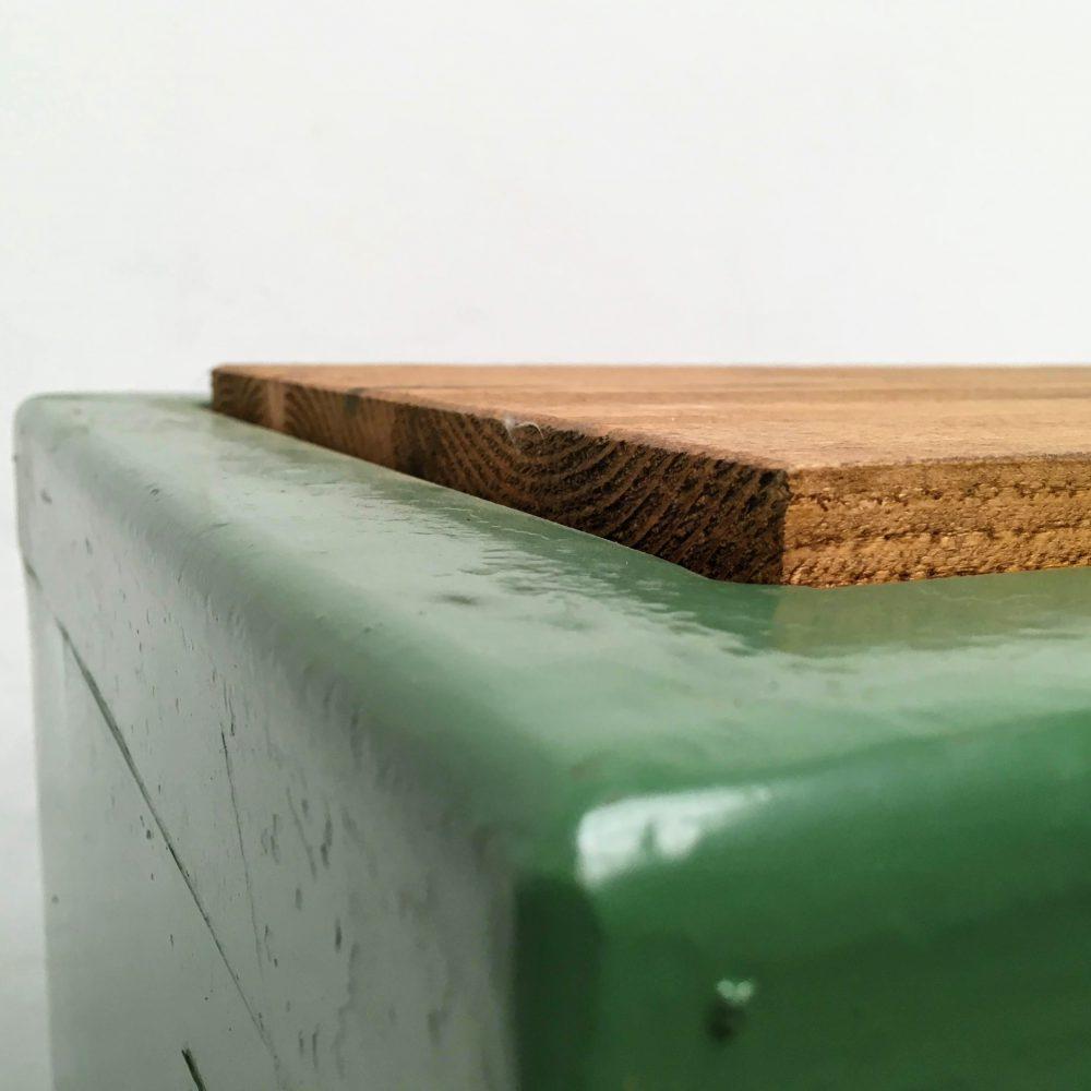 Kast metaal groen