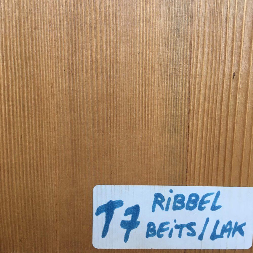 Blad T7 Ribbel beits/lak
