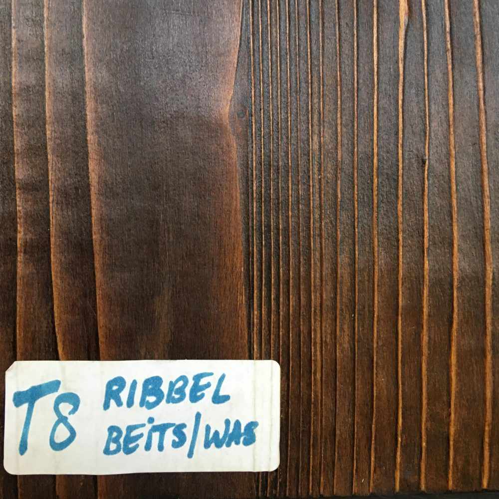 Blad T8 Ribbel Beits/was