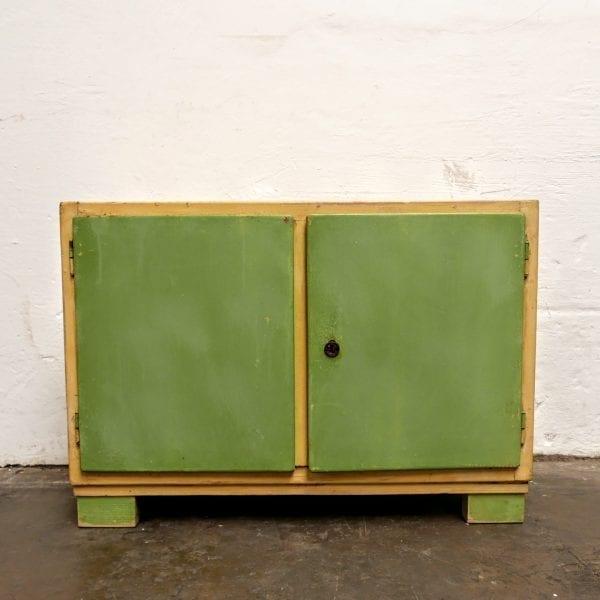 Geel groen kastje