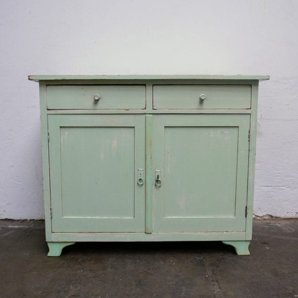 Mint houten commode of onderkast