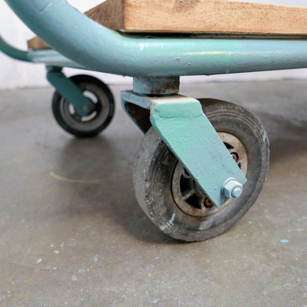 Industriële stellingskast op wielen
