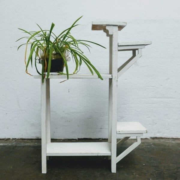 Wit plantentafeltje