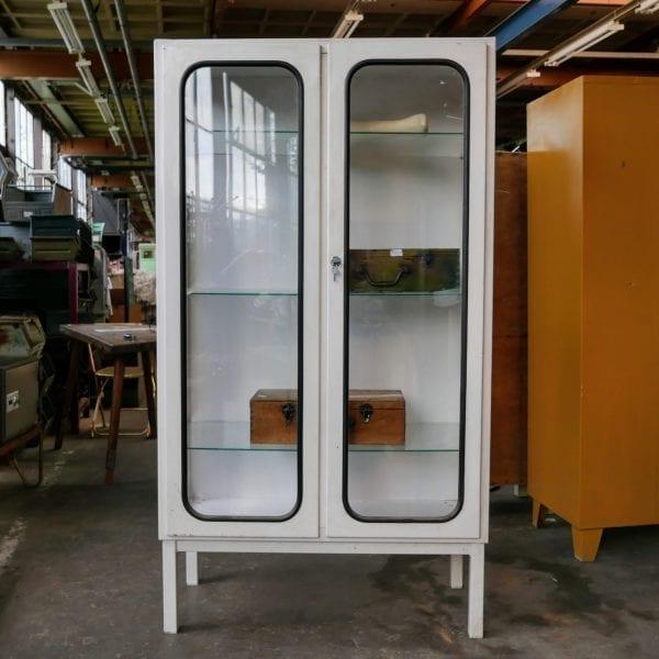 metalen 2-deurs apothekerskast