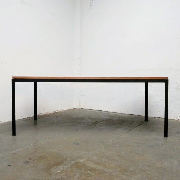 Houten industriële tafel