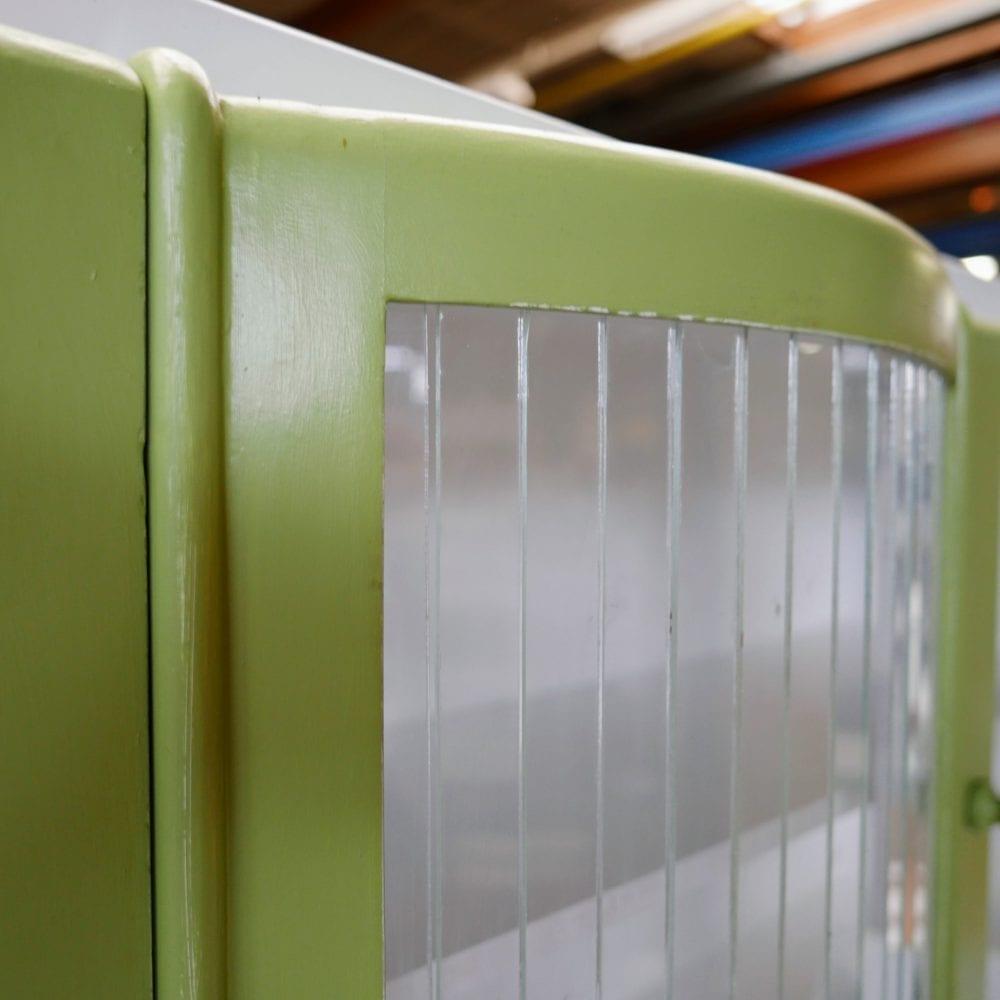 Groene retro buffetkast