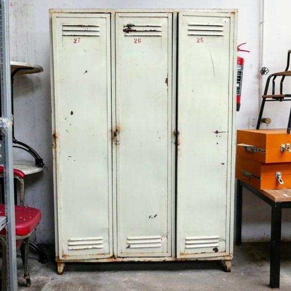 Witte lockers