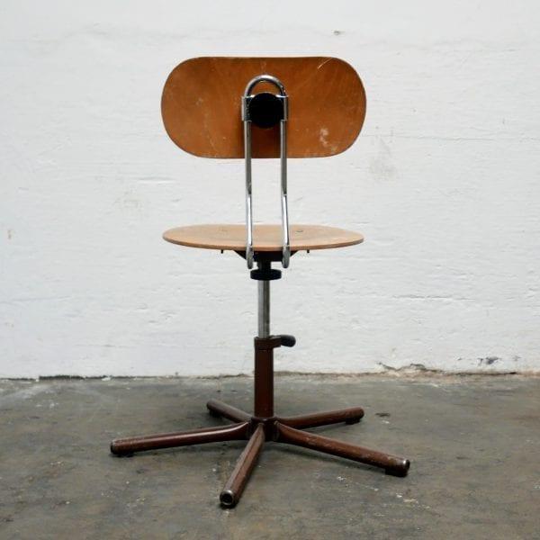 Metalen bureau stoel voor kinderen