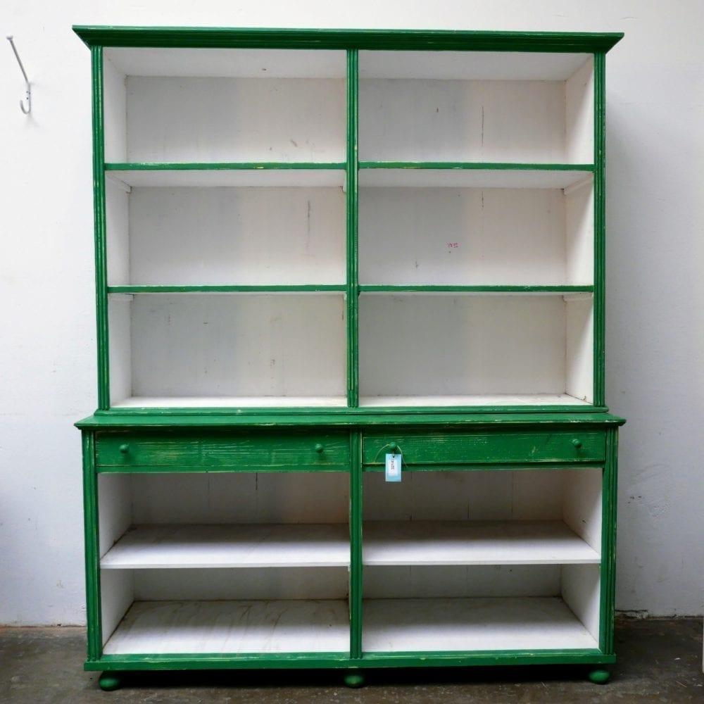 Groene winkelkast
