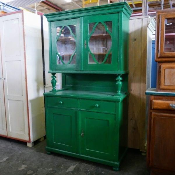 Groene buffetkast