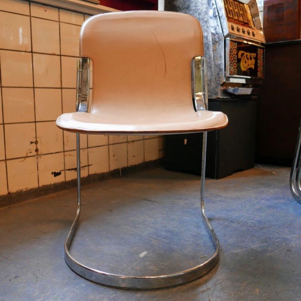 leren stoelen