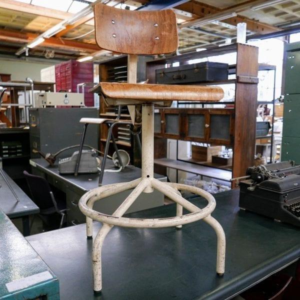 metalen bureaustoel