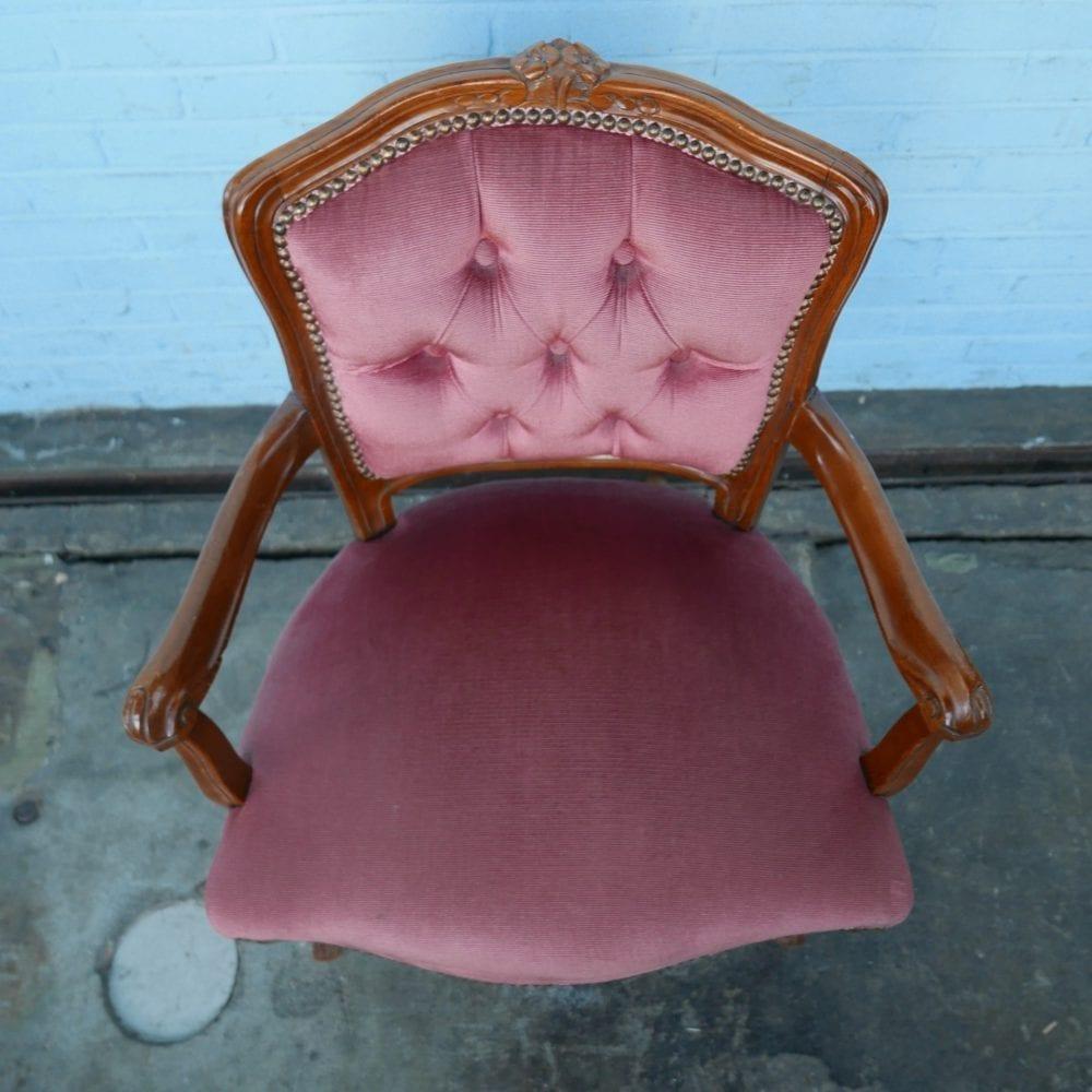 stoel roze