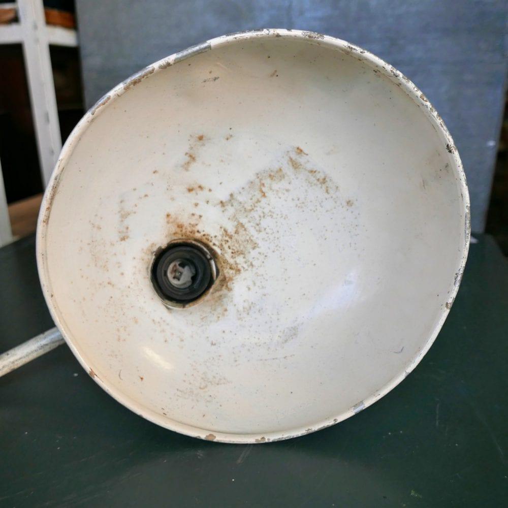 Vintage metalen bureaulamp