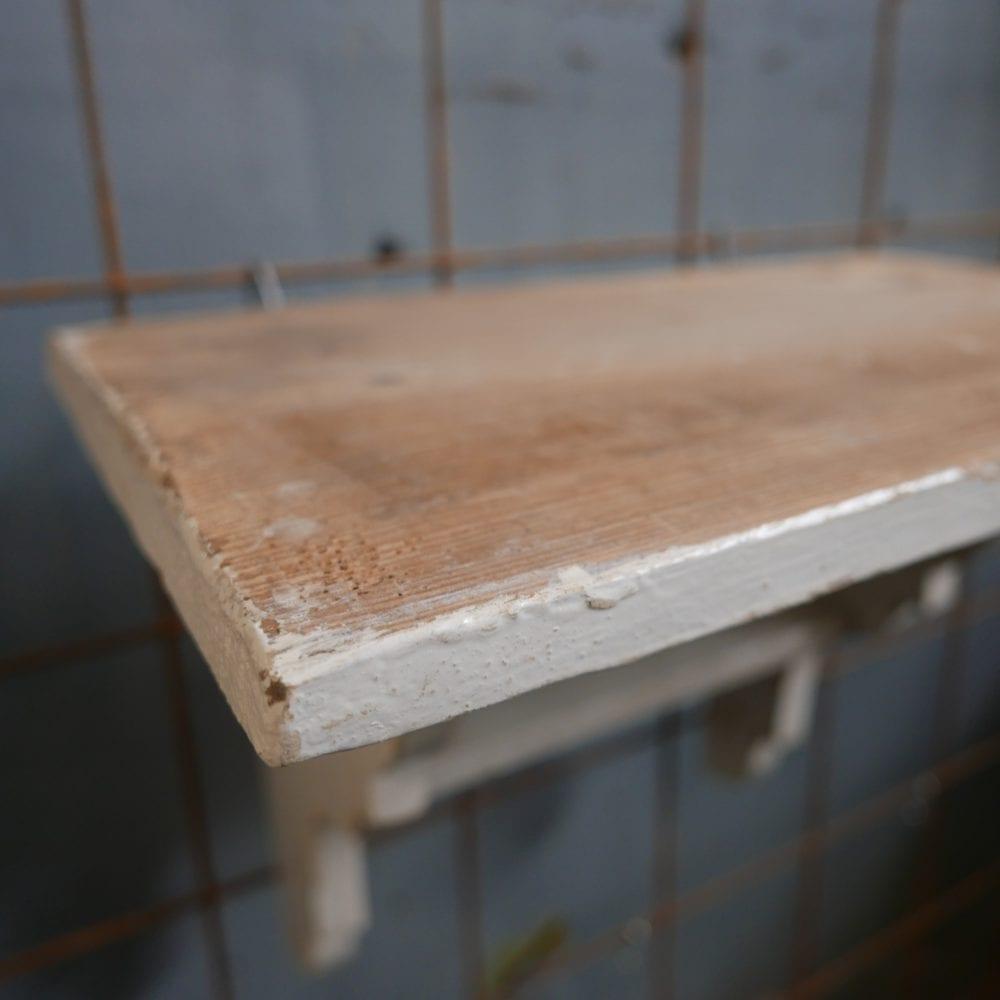Houten planchet plankje schap