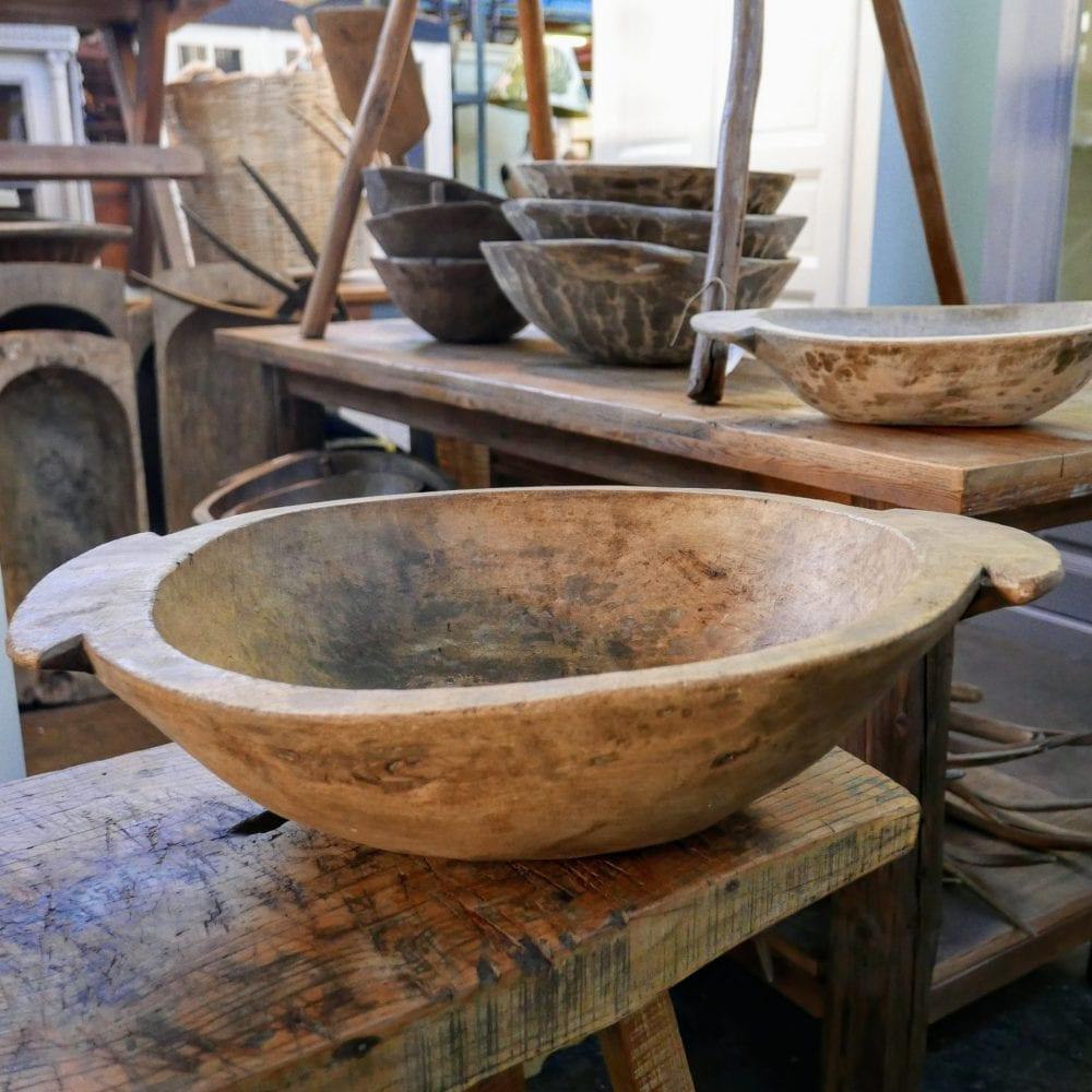 Hongaarse houten schalen