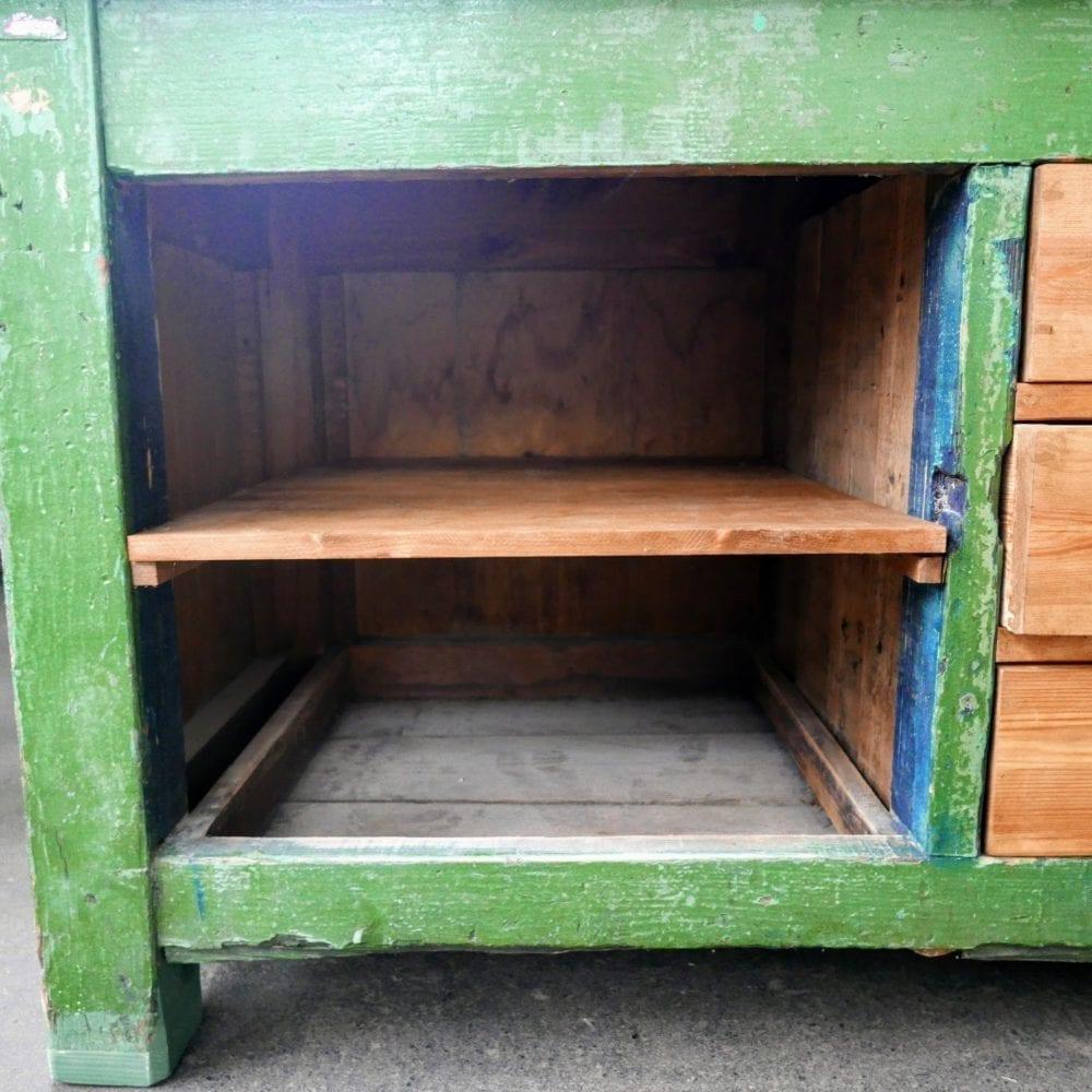 groene werktafel