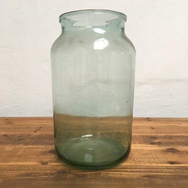 Glazen pot transparant