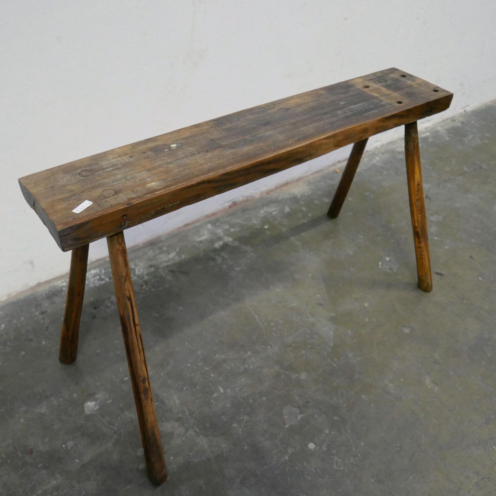 Wonderbaarlijk Houten smalle tafel » Van Dijk & Ko ZC-81