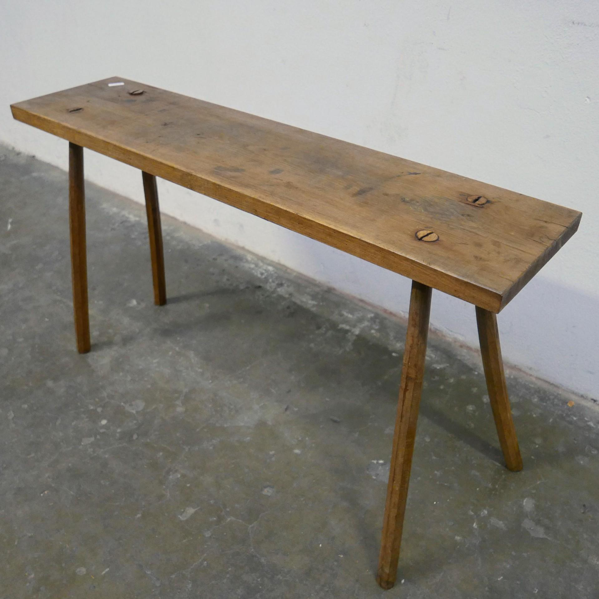 Verwonderlijk Houten smalle tafel » Van Dijk & Ko YE-02