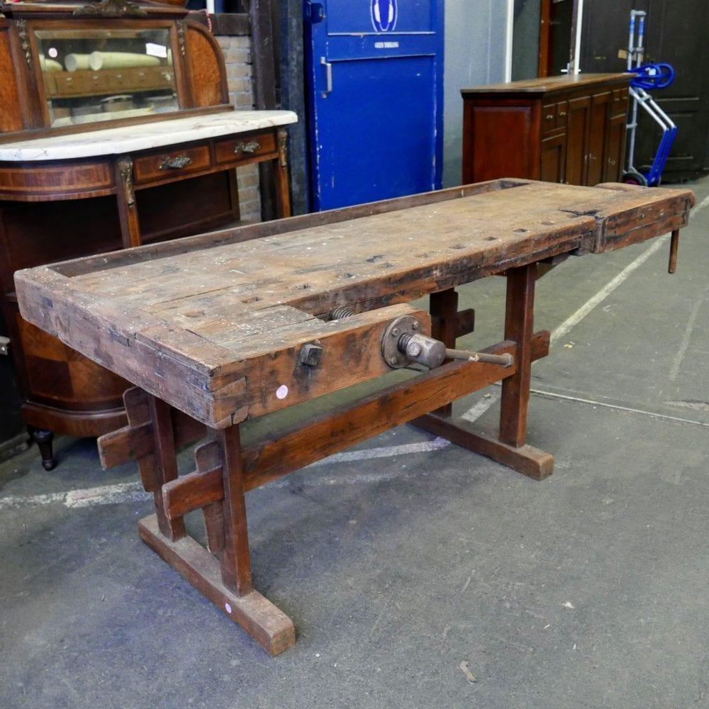 houten werkbank