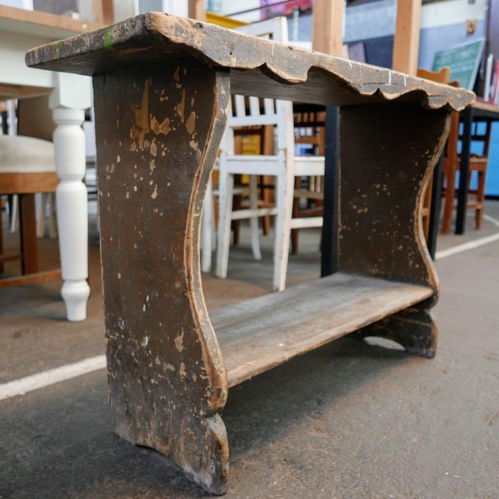 houten bankje