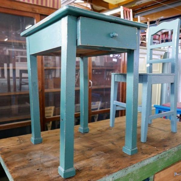 groenblauw tafeltje