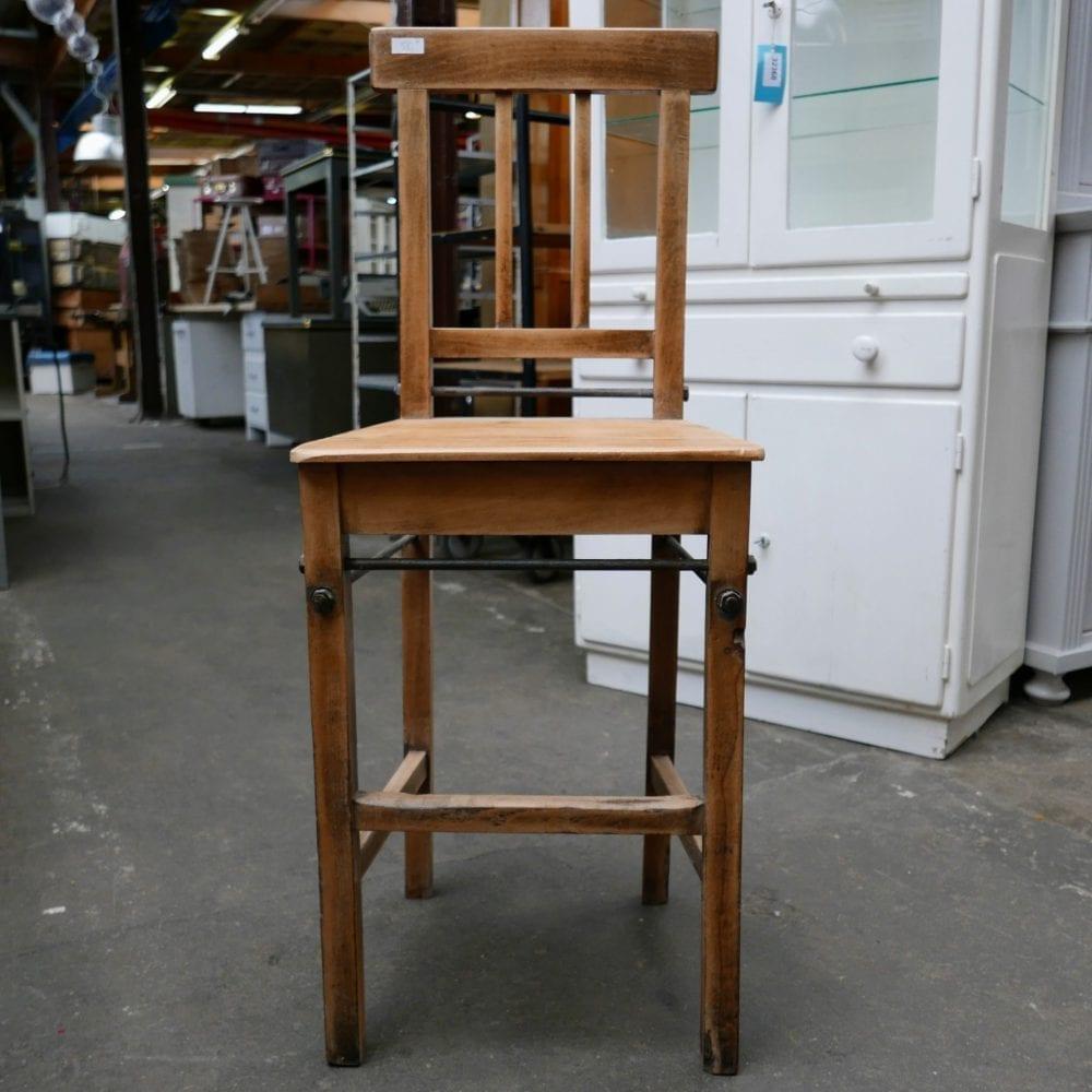 houten hoge stoel