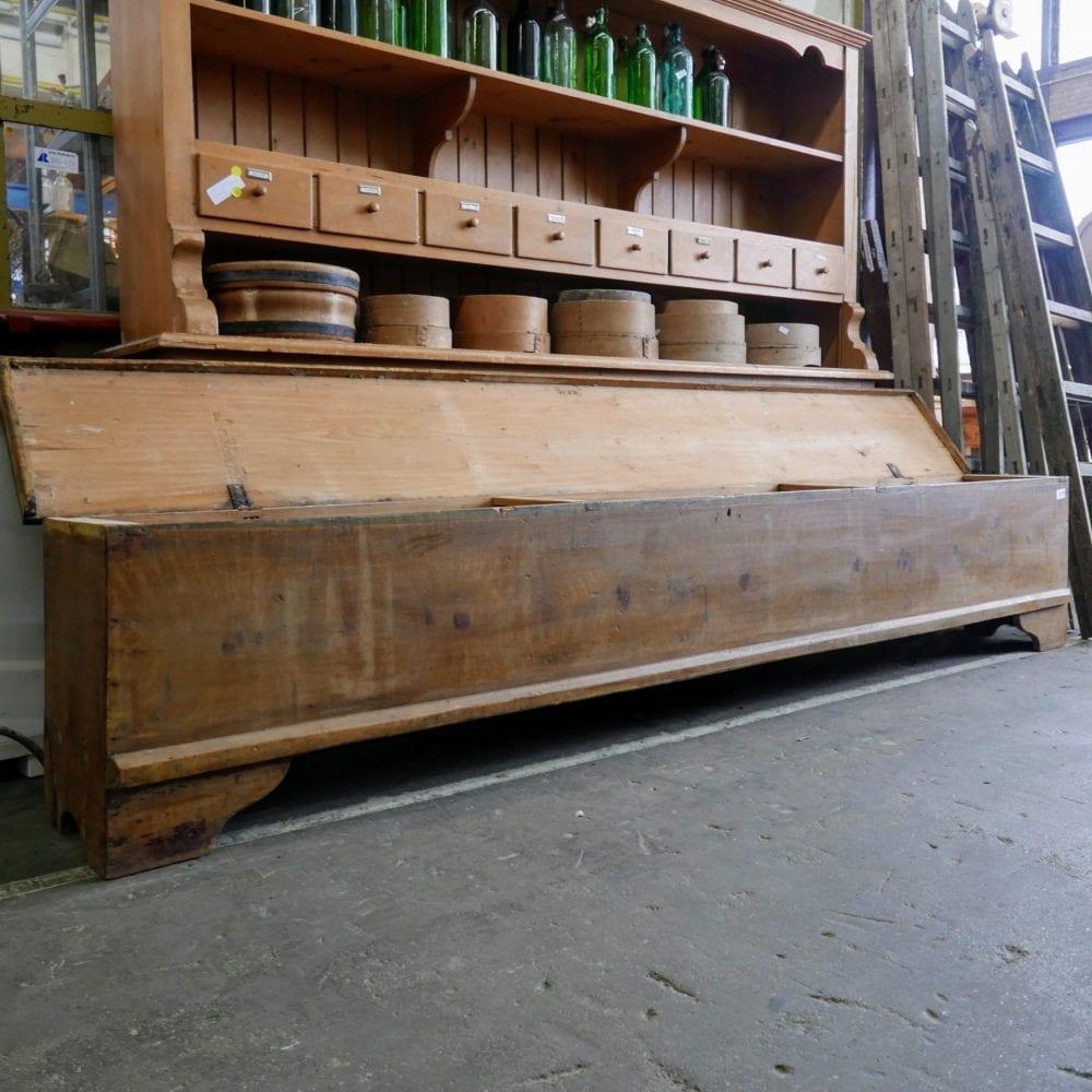 houten kistbank