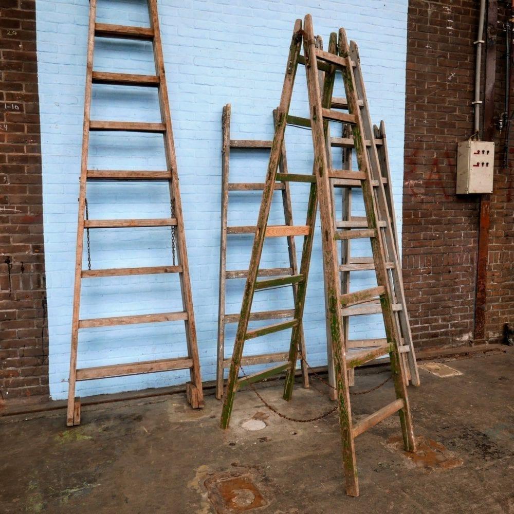 houten ladders