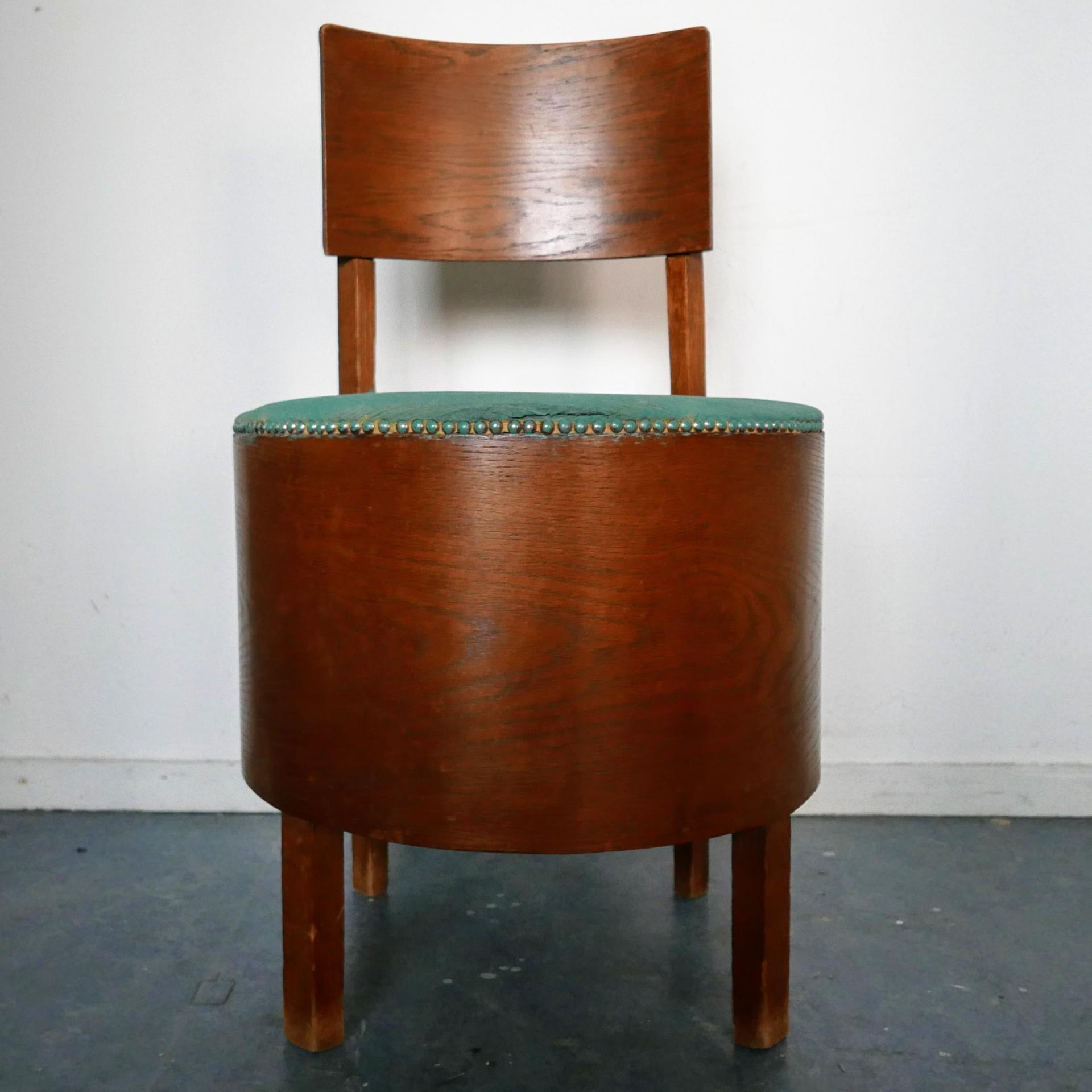 Uitgelezene Amsterdamse school fauteuil » Van Dijk & Ko RL-74