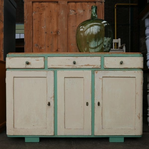 mint-wit dressoir