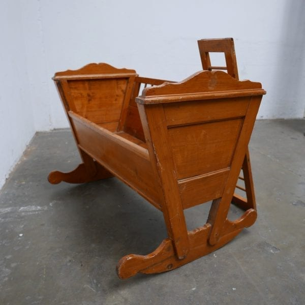 houten schommel wieg