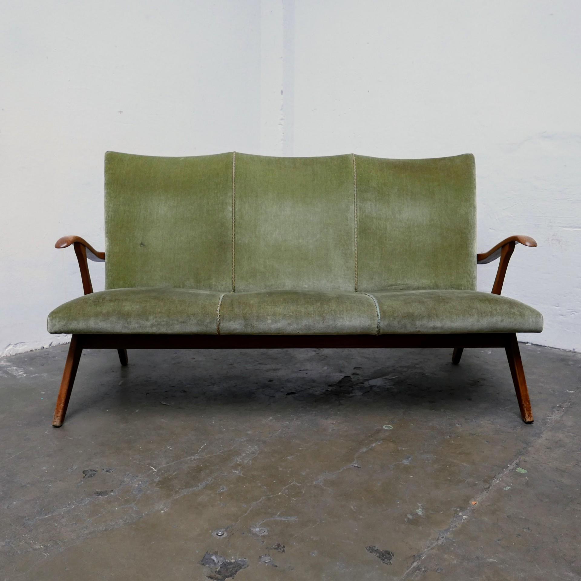 Wonderbaarlijk Vintage design zitbank » Van Dijk & Ko UJ-61