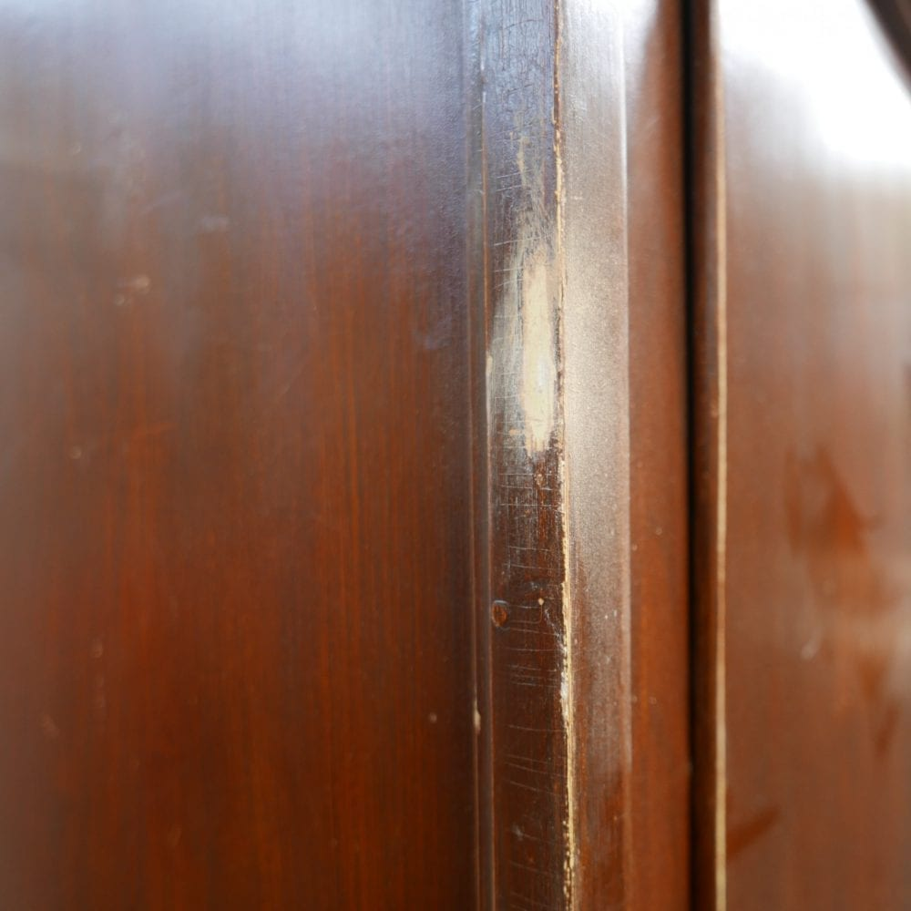 authentieke houten linnenkast