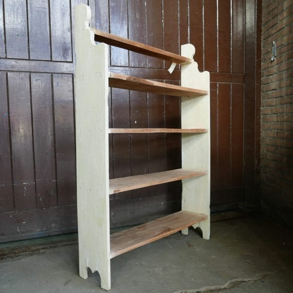 houten keuken rek