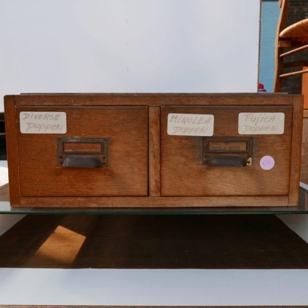 vintage archiefkastje