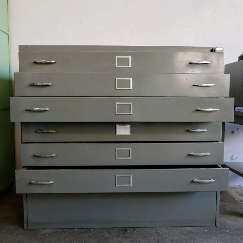 metalen archiefkast
