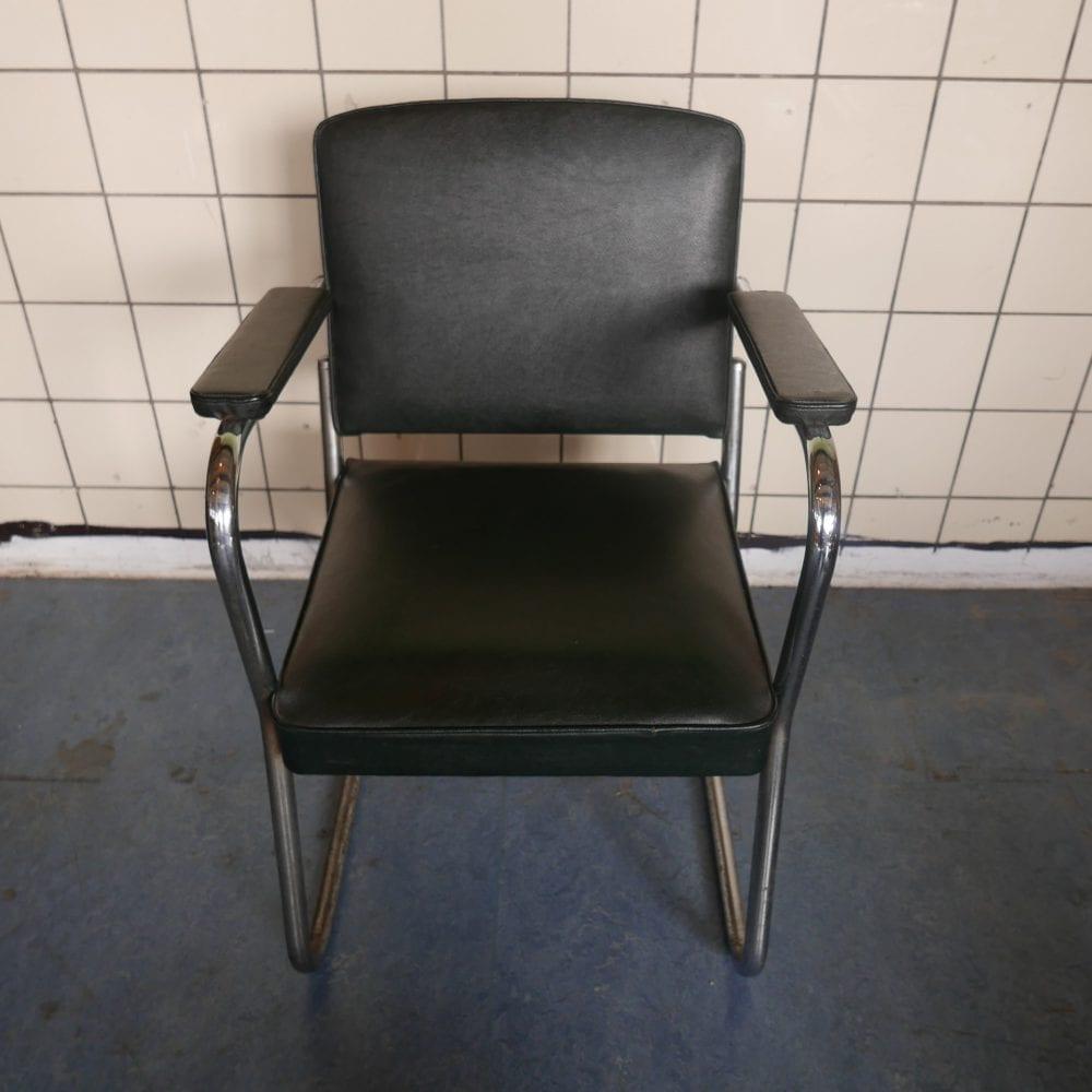 zwarte bureau stoel