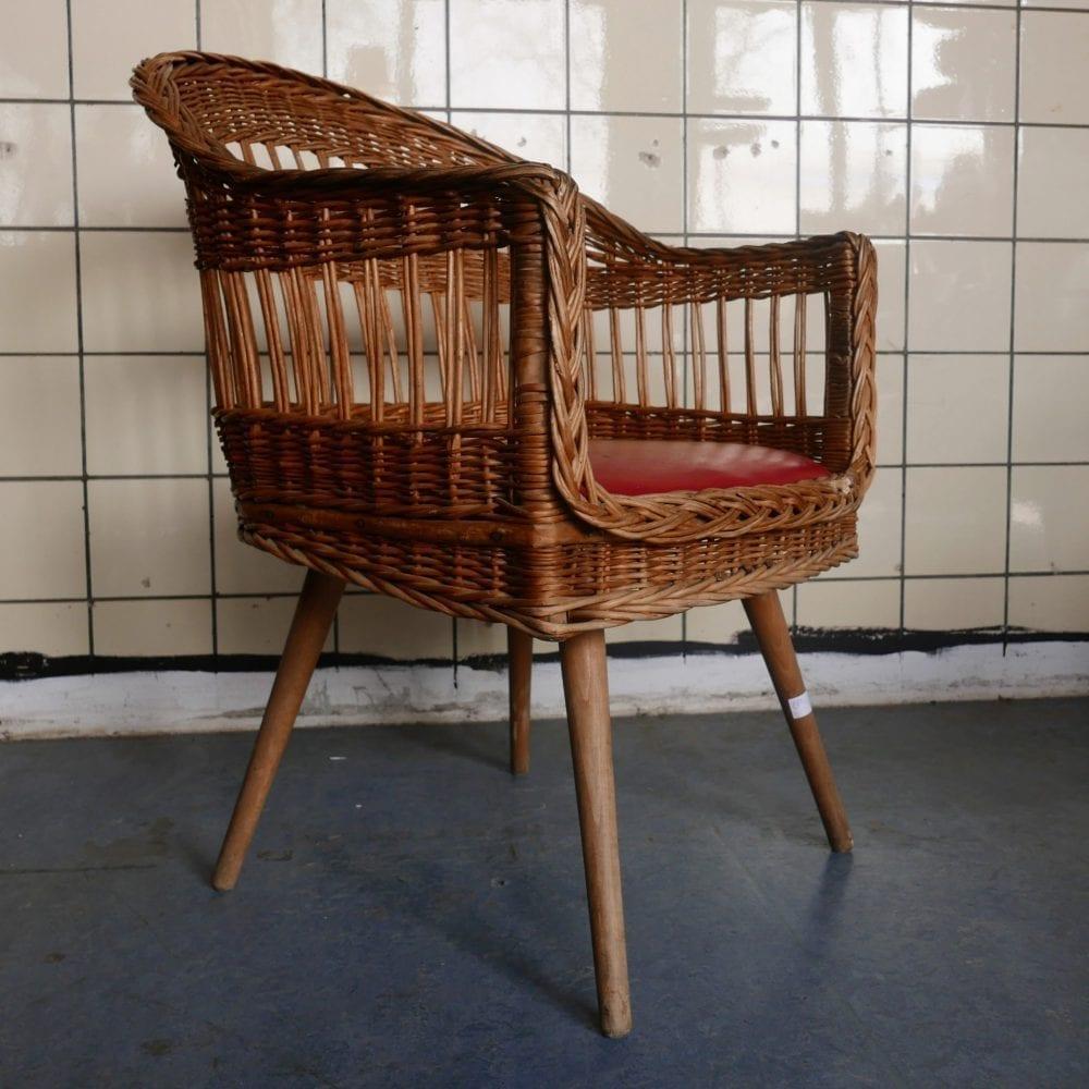 Hongaarse rieten stoel