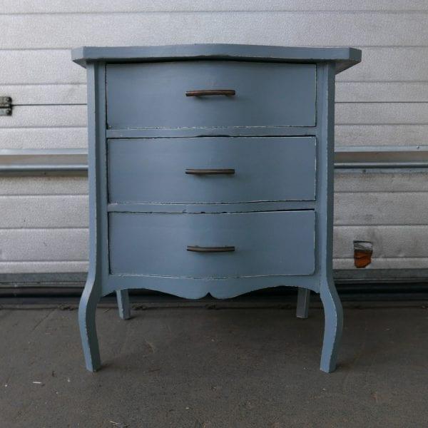 blauw kastje