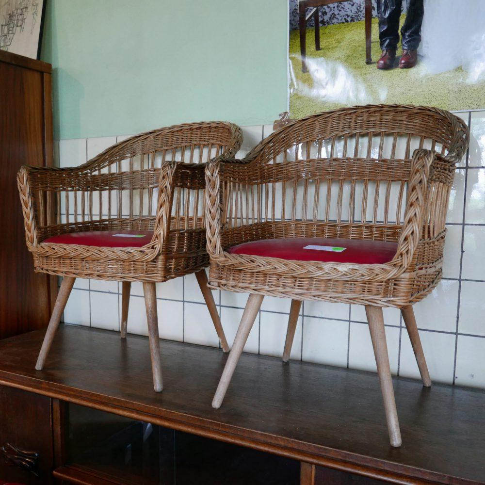 rieten stoelen