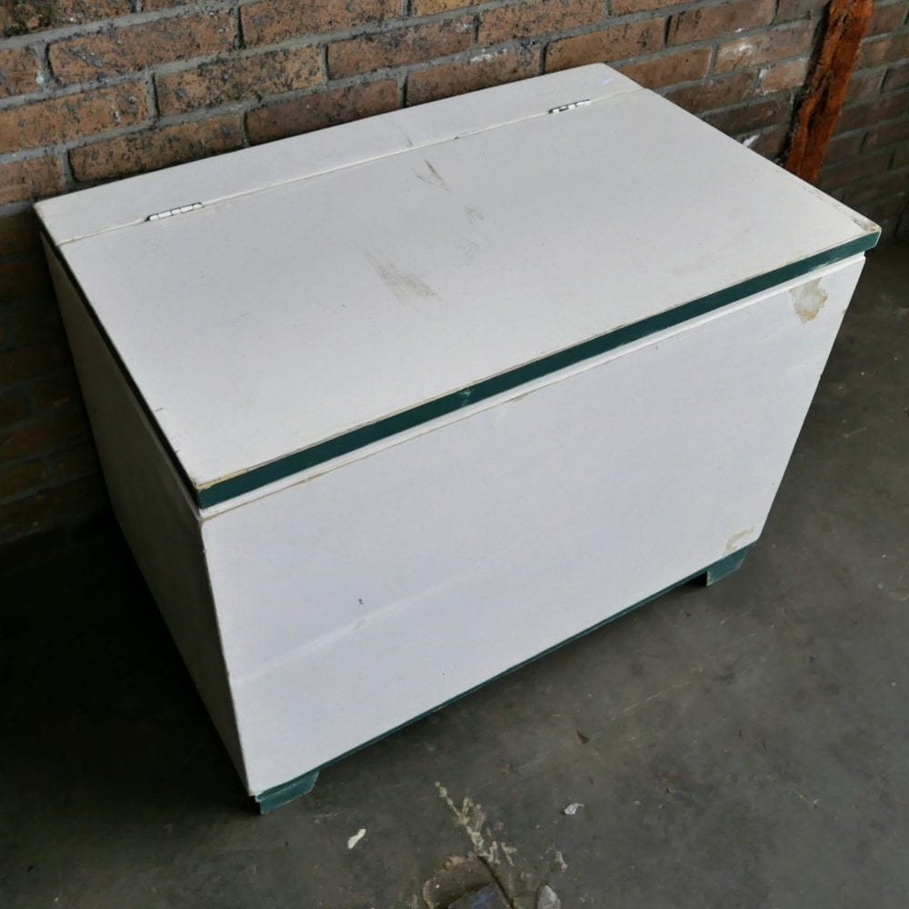 Wit-groene kist