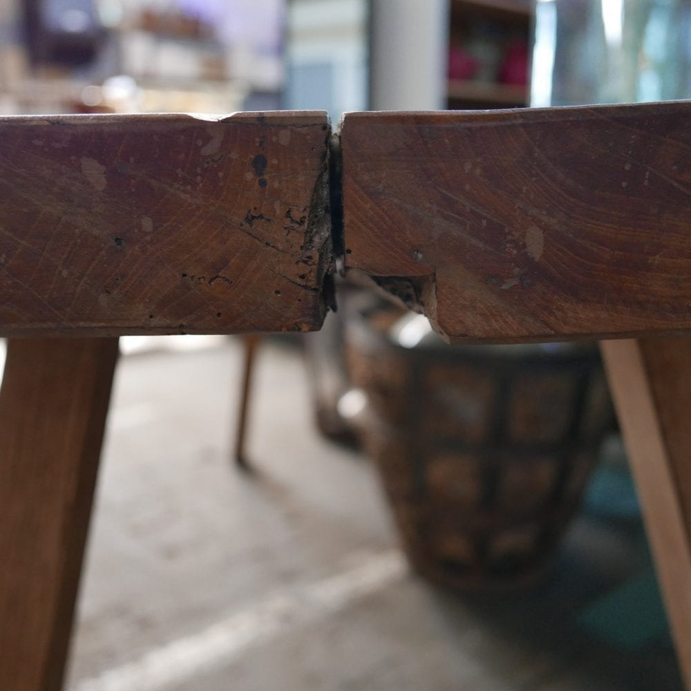 houten slachttafel