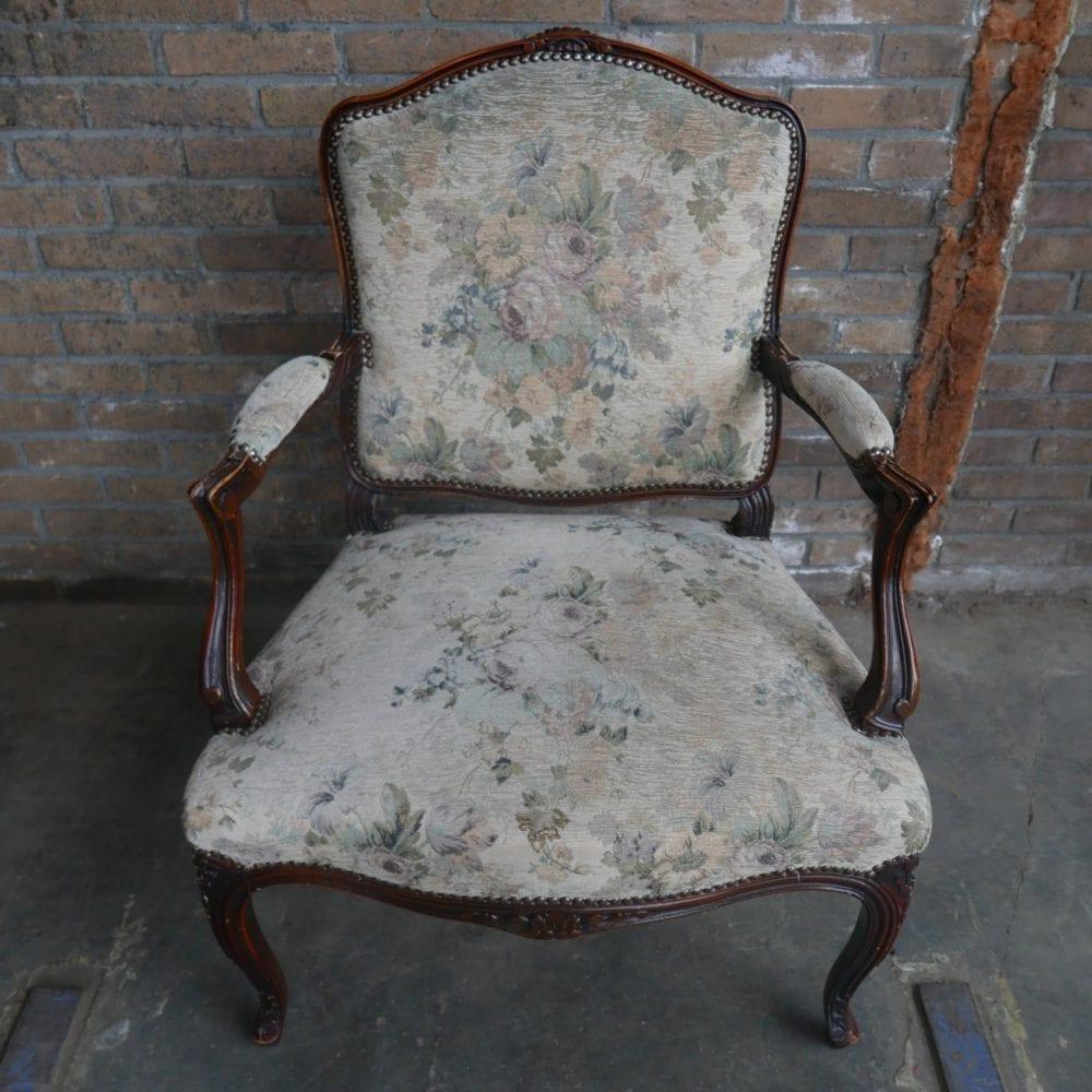 Barok louis XV vintage klassiek fauteuil