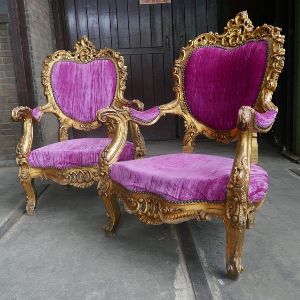 Barok stoel