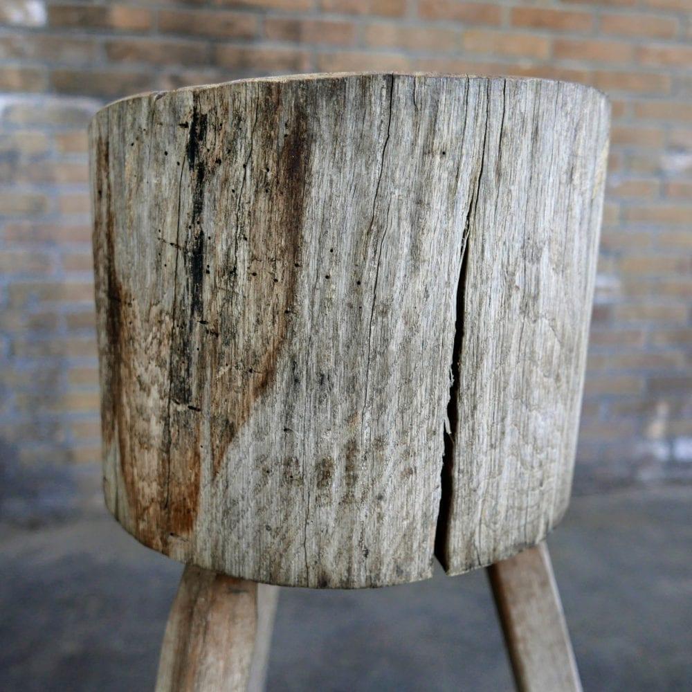 houten hakblok